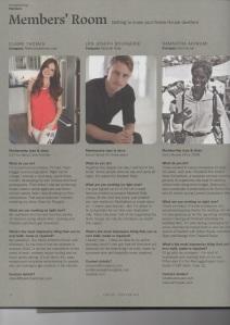 Jon Joseph Bourgerie Soho House Magazine